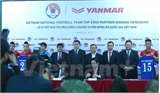 Yanmar chính thức trở thành nhà tài trợ mới của tuyển Việt Nam