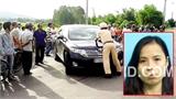 Vĩnh Phúc: Nữ cán bộ Sở bỏ chạy, tông Cảnh sát lên nắp capo