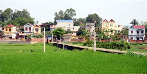 Phấn đấu đến năm 2015, khoảng 20% xã đạt chuẩn nông thôn mới