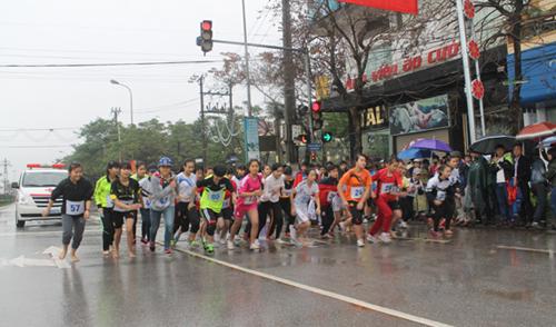 160 VĐV, tham gia, Giải việt dã TP Bắc Giang