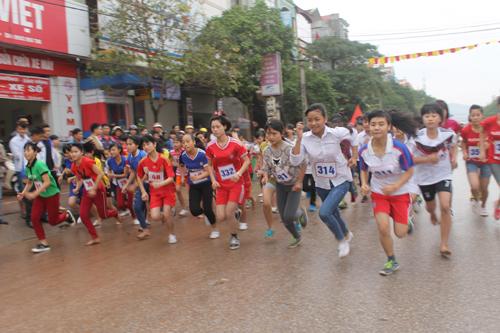 Lục Nam, Việt Yên, tổ chức, giải việt dã, truyền thống