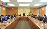 Công bố Nghị quyết về việc thành lập Nhóm đại biểu Quốc hội trẻ