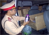 Bắc Giang: Bắt 4 vụ vận chuyển hàng hóa không rõ nguồn gốc