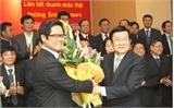 Ông Vũ Tiến Lộc tái đắc cử Chủ tịch VCCI