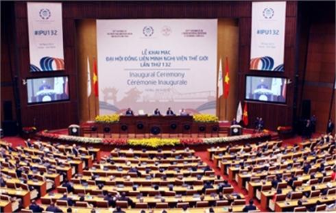 Khai mạc trọng thể Ðại hội đồng liên minh nghị viện thế giới lần thứ 132