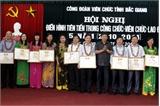 Công đoàn Viên chức tỉnh Bắc Giang: Tuyên dương 31 điển hình tiên tiến