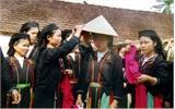 Tái hiện lễ ăn hỏi của dân tộc Sán Chí tại Hà Nội