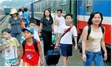 Dưới 6 tuổi được miễn vé tàu, 6 - 10 tuổi giảm 50%