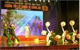 """Bắc Giang đoạt giải cao tiếng hát """"Chúng tôi là chiến sĩ CAND"""""""