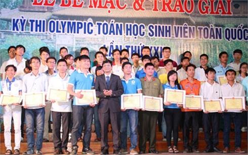 Bốn sinh viên Bắc Giang  đoạt giải Olympic Toán học toàn quốc