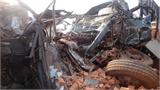 Đâm xe kinh hoàng ở Đăk Lăk, 6 người chết thảm