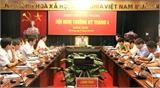 UBND tỉnh Bắc Giang họp thường kỳ tháng 4