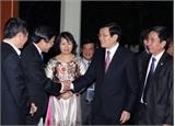 Hoạt động của Chủ tịch nước Trương Tấn Sang tại Gia-các-ta