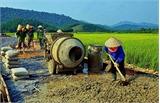 Tuấn Đạo dồn sức hoàn thành ba tiêu chí xây dựng nông thôn mới