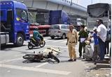 TP Bắc Giang: Tai nạn giao thông một người chết, một người bị thương