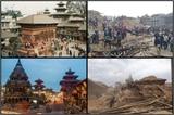 Chùm ảnh Nepal trước và sau thảm họa động đất