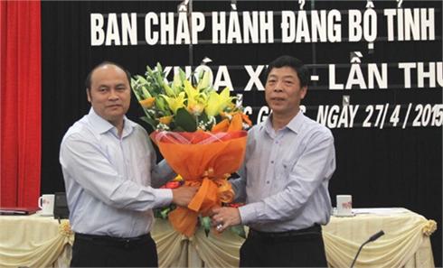 Đồng chí Nguyễn Văn Linh được bầu giữ chức Phó Bí thư Tỉnh ủy Bắc Giang