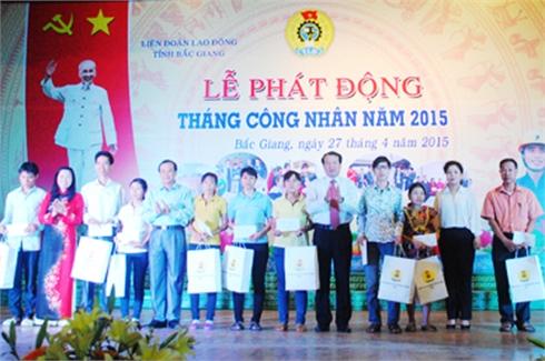 Bắc Giang: Phát động Tháng Công nhân
