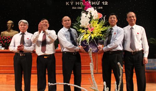 HĐND tỉnh Bắc Giang, khóa XVII, nhiệm kỳ 2011-2016, tổ chức, kỳ họp thứ 12
