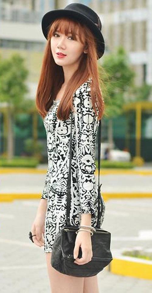 kiểu váy hè, dịu  dàng, xuống  phố