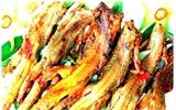 Dông nướng – món ngon dân dã ở Bình Thuận