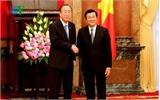 Chủ tịch nước hội kiến Tổng Thư ký Liên Hợp quốc