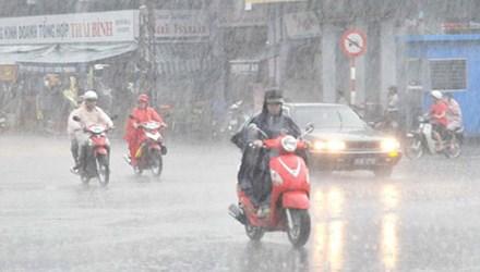 Trung Bộ nắng nóng, Bắc Bộ chiều tối có mưa dông
