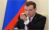 Thủ tướng Medvedev: Nga sẽ có lập trường cứng rắn nếu Ukraine không trả nợ