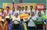 Bế mạc Giải cầu lông đồng đội toàn quốc, tranh Cúp Li-Ning: Đoàn Bắc Giang giành Huy chương Bạc