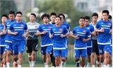 HLV Miura mang 22 cầu thủ U23 tới Singapore