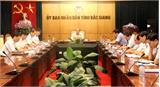 Duyệt dự thảo báo cáo chính trị Đại hội Đảng bộ huyện Lạng Giang và Công ty Đạm