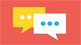 Học ngoại ngữ trong khi chờ phản hồi tin nhắn trên mạng xã hội