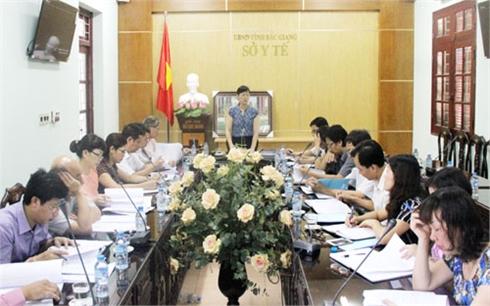 HĐND tỉnh Bắc Giang giám sát quản lý ngân sách tại Sở Y tế