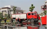 Diễn tập phòng cháy, chữa cháy tại Khách sạn Mường Thanh Bắc Giang