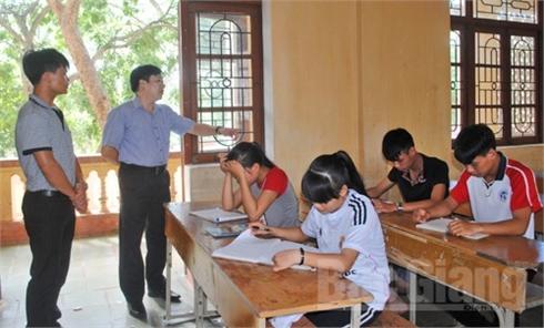 19.055 thí sinh Bắc Giang thi THPT quốc gia