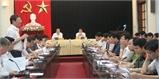 Thường trực Tỉnh ủy, UBND tỉnh Bắc Giang giao ban với lãnh đạo các sở, ngành, địa phương