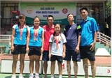 Đội tuyển quần vợt Bắc Giang giành 3 huy chương toàn quốc
