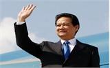 Thủ tướng lên đường dự Hội nghị cấp cao Mekong-Nhật Bản