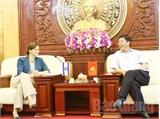 Đại sứ đặc mệnh toàn quyền Israel tại Việt Nam thăm và làm việc tại tỉnh Bắc Giang