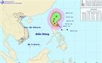 Bão giật cấp 12-13 đang hoành hành trên Biển Đông