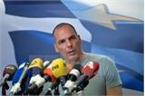 Bộ trưởng Tài chính Hy Lạp Varoufakis bất ngờ tuyên bố từ chức