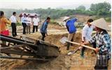 Ngăn chặn khai thác trái phép cát sỏi lòng sông