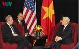 Tổng Bí thư mong muốn Hoa Kỳ mở rộng thị trường cho hàng hóa Việt Nam