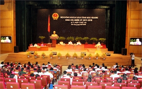 Bắc Giang: Khai mạc Kỳ họp thứ 13, HĐND tỉnh khóa XVII