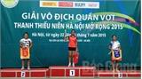 Giải quần vợt thanh thiếu niên Hà Nội mở rộng: Bắc Giang giành 5 huy chương