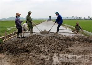 Huy động sức dân xây dựng nông thôn mới: Không nóng vội, chạy theo thành tích