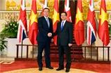 Tuyên bố chung Việt Nam- Vương quốc Anh