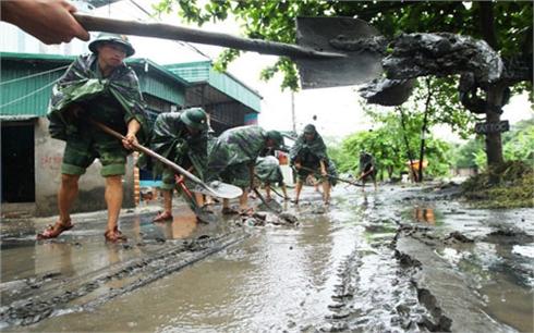 Miền Bắc sắp có đợt mưa lũ mới, 31.000 bộ đội ứng chiến