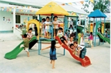 Hoàn thành công trình Trường mầm non thị trấn Cầu Gồ, tổng kinh phí gần 15 tỷ đồng
