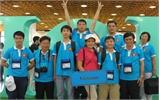 Đoàn Việt Nam dự thi Tin học quốc tế giành kết quả cao nhất trong 15 năm